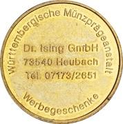 Token - Dr. Ising GmbH (Apotheker) – reverse