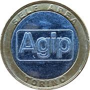 Car Wash Token - Agip Self-Service (Torino) – obverse