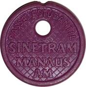 Token - Sinetram Manaus AM (student pass) – obverse