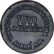 Token - V.V.P. Passagem – obverse