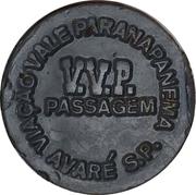 Token - V.V.P. Passagem – reverse
