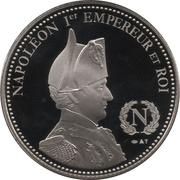 Token - Napoleon (Bataille de Wagram) – reverse