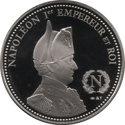 Token - Napoleon (Bataille d'Essling) – reverse