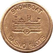 Game Token - Showboat Casino Slots – obverse