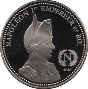 Token - Napoleon (Bataille d'Austerlitz) – reverse