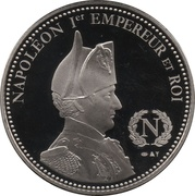 Token - Napoleon (Code Civil) – reverse