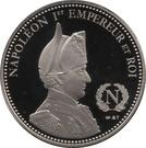 Token - Napoleon (Waterloo) – reverse