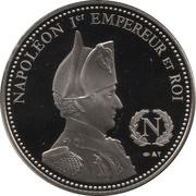 Token - Napoleon (Bataille d'Eylau) – reverse