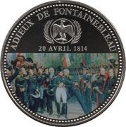 Token - Napoleon (Adieux de Fontainebleau) – obverse