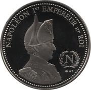 Token - Napoleon (Adieux de Fontainebleau) – reverse