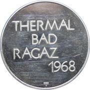 Medallion - Bad Ragas Thermal Springs – reverse