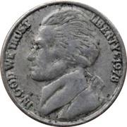 Token - Mini Coin (Jefferson Nickel) – obverse