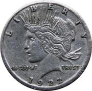Token - Mini Coin (Peace Dollar) – obverse