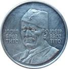 Token - Josip Broz Tito (24 mm; .900) – obverse