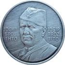 Token - Josip Broz Tito (28 mm; .900) – obverse