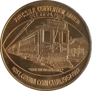 Token - California State Numismatic Association (71St Convention) – reverse