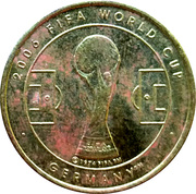 Token - 2006 FIFA World Cup (Argentina) – reverse