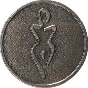 Token (Female silhouette) – reverse