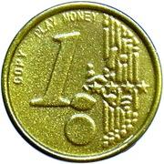 1 Euro – Play Money – obverse