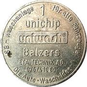1 Unichip - Uniwash (Balzers) – obverse