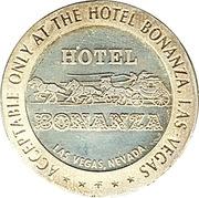 2 Dollars Gaming Token - Hotel Bonanza (Las Vegas, Nevada) – obverse