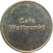 Amusement Token - Cafe Wettpunkt – obverse
