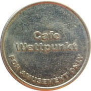 Amusement Token - Cafe Wettpunkt – reverse