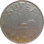 Token - Super L (London) – obverse