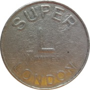 Token - Super L (London) – reverse