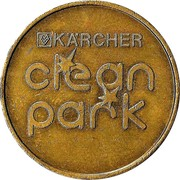 Car Wash Token - Kärcher Clean Park (Zeven) – reverse