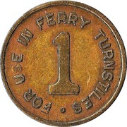 Token - Sydney Harbour Ferries Pty Ltd – reverse