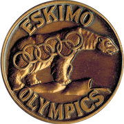 Token - Eskimo Olympics (Fairbanks, Alaska) – obverse
