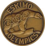 Token - Eskimo Olypics (Fairbanks Alaska) – obverse