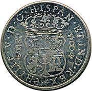 Replica - 8 Reales Philip V 1743 – obverse