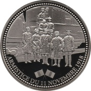 Token - The Great War 1914-1918 (Armistice of 11 November 1918) – obverse