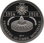 Token - The Great War 1914-1918 (Armistice of 11 November 1918) – reverse