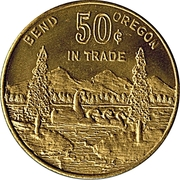 50 Cents - Bend Oregon – obverse