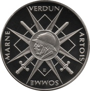 Token - The Great War 1914-1918 (Marne, Verdun, Artois, Sommme) – obverse