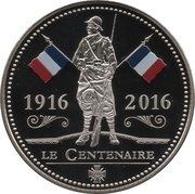 Token - The Great War 1914-1918 (Centenaire de Verdun) – obverse