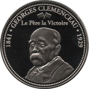 Token - The Great War 1914-1918 (Georges Clemenceau) – obverse