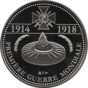 Token - The Great War 1914-1918 (Georges Clemenceau) – reverse