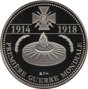 Token - The Great War 1914-1918 (The Women of the Great War) – reverse