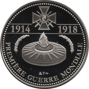 Token - The Great War 1914-1918 (The Aces - Guynemer) – reverse