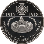 Token - The Great War 1914-1918 (Marshals Of France) – reverse