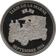 Token - The Great War 1914-1918 (Renault Taxi de la Marne) – obverse