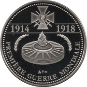 Token - The Great War 1914-1918 (Battle of Verdun) – reverse
