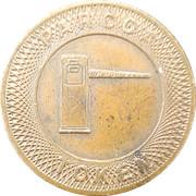 Parking Token - Parcoa (The National Bank of Pottstown) – reverse