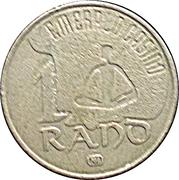 1 Rand - Emerald Casino – reverse