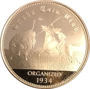Token - Nebraska Centennial (Omaha Coin Club) – obverse