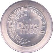 1 Dommetje - Jubileumactie 1992 ('s Rijks Munt) – reverse
